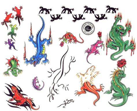 Lizard Tattoo Ideas And Lizard Tattoo Designs Page 4 Lizard Designs