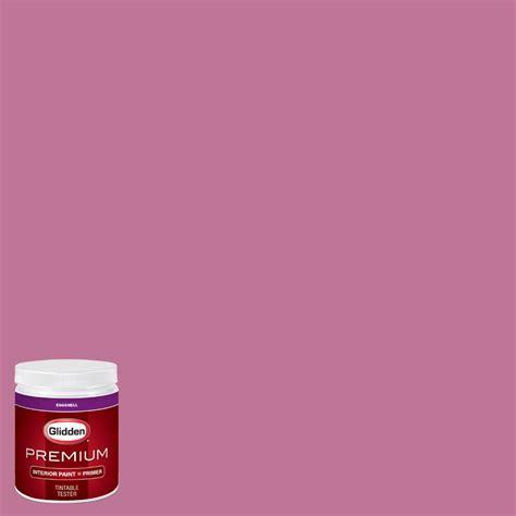 glidden premium 8 oz hdgr02d petal pink eggshell interior paint with primer tester