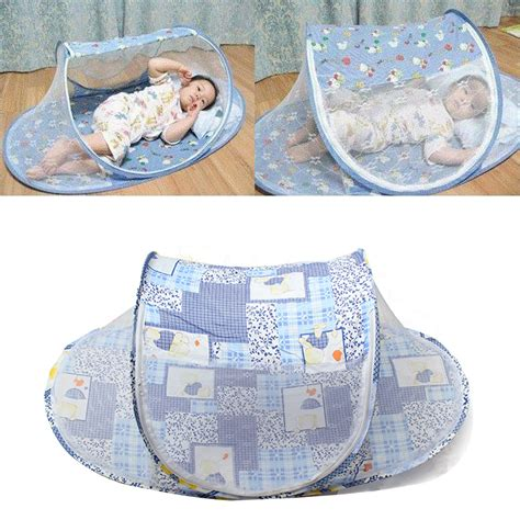 travel infant bed portable foldable baby mosquito tent travel infant bed net