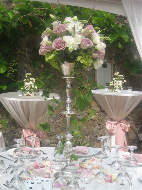silver wedding table 34 best cocktail style table decor images on pinterest