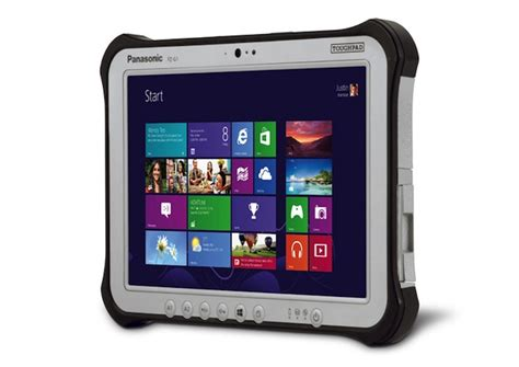 panasonic rugged tablet panasonic launches windows 8 and android tablets toughbook range of rugged devices