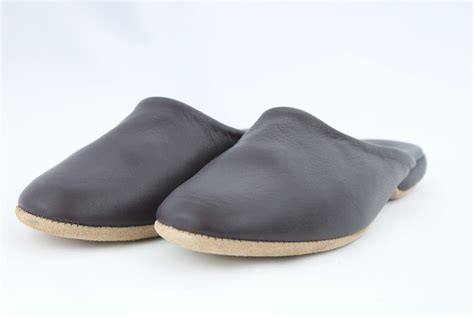 mens leather mule slippers men s leather mule slipper radford leather fashions
