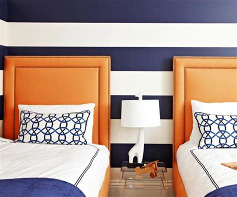 orange and blue room blue variations for boys rooms
