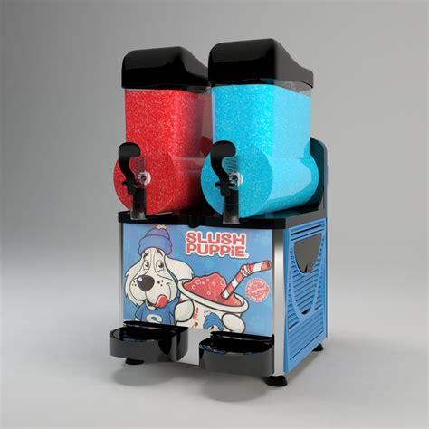 slush puppy machine slush machine 3d model