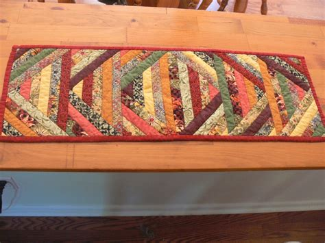 my quot quilt as you go quot table runner table runners