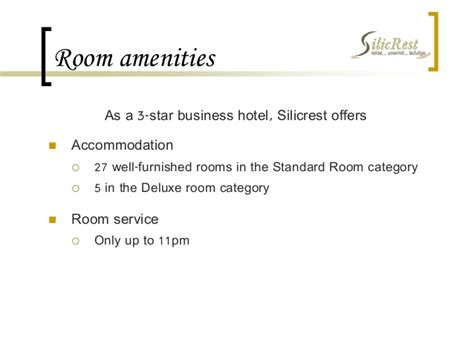 Requirements For Renting A Hotel Room by Study Hotel Silicrest