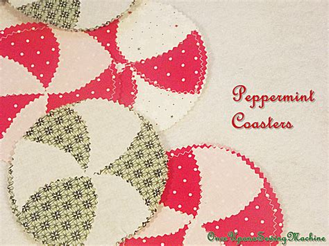 sewing christmas crafts diy coasters