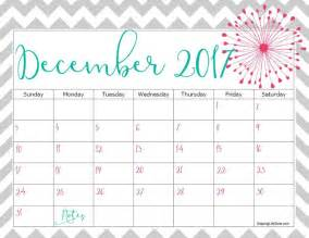December 2017 Calendar December 2017 Calendar Printable Template With