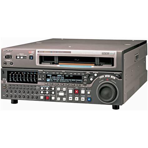 format video sony sony msw m2000 mpeg imx format studio vtr mswm2000 1 b h photo