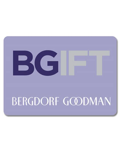 Bg Gift Card - gift cards at bergdorf goodman