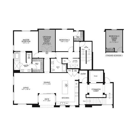 floor plan residential residence 1