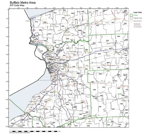 zip code map western ny zip code ny