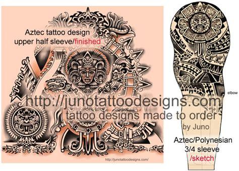 aztec tattoos templates calendar tattoo