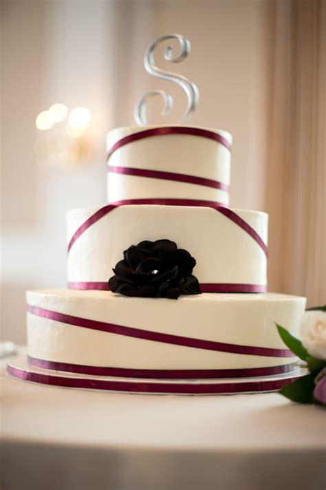 Wedding Cake Ribbon by Sangria Ribbon Wedding Cake Cakecentral