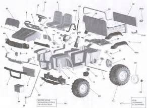 12v wiring diagram for perego johndeere gator solved fixya