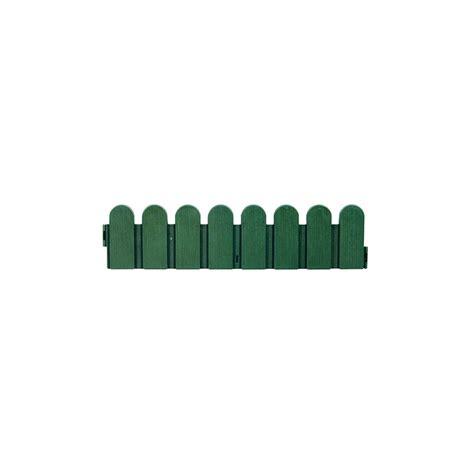 bordure de jardin verte pvc type cloture jardin et saisons