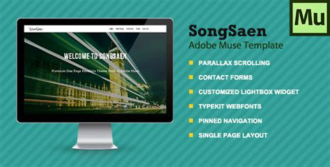 muse parallax templates songsaen parallax muse template by muse templates