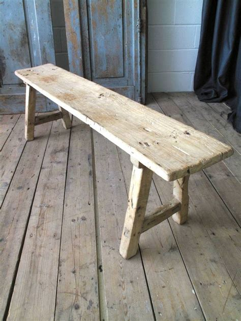 old wooden work bench 1000 images about old stools on pinterest wooden