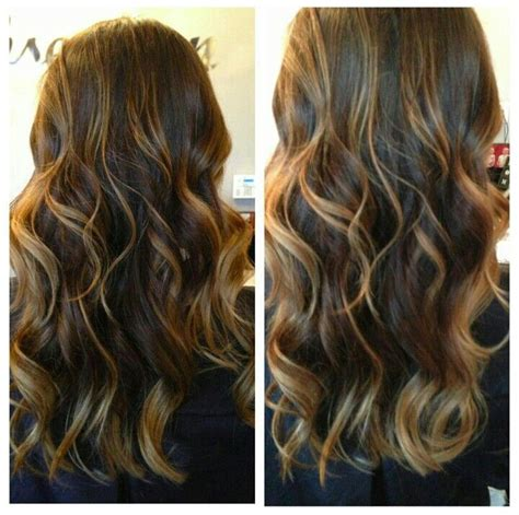 Caramel Highlights At Home by Black Hair Caramel Highlights Hairstyle Fo雕