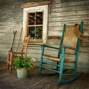 Rocking chairs and front porches two of my favorite things with my