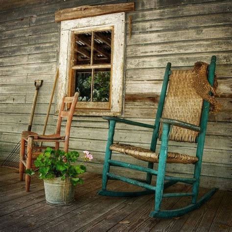 rocking chairs and front porches country dreams