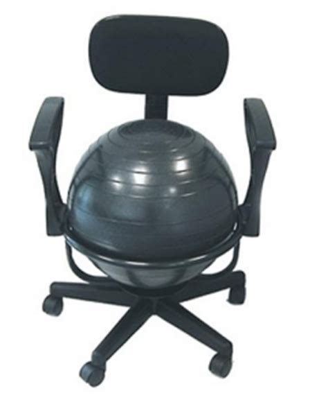 Bosu Chair by Review The Cando With Adjustable Arms