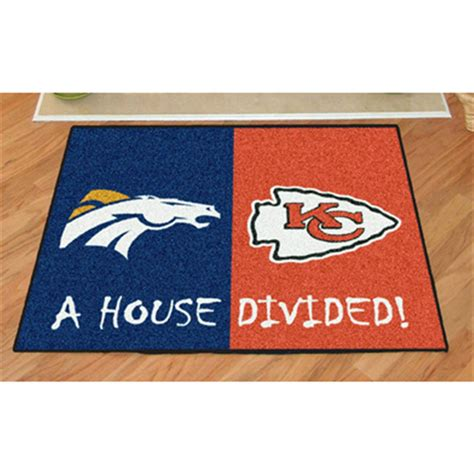 House Divided Rugs by Fanmats Nfl House Divided Mat 176396 Sports Fan Gifts