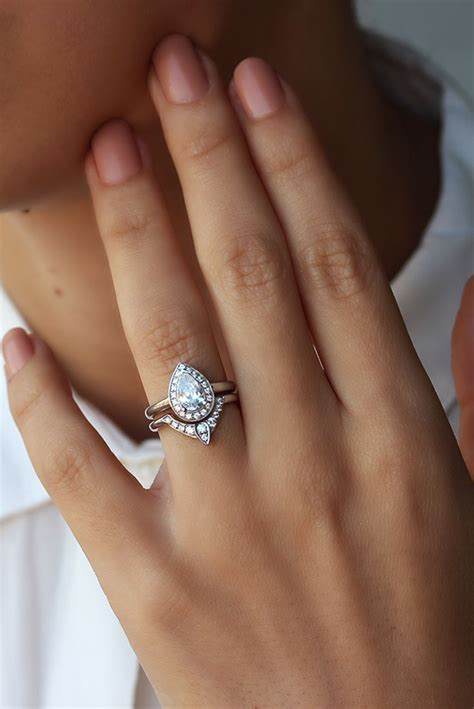 Wedding Engagement Rings by Best 25 Pear Engagement Rings Ideas On Pear