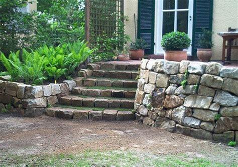 Kleiner Garten Ideen 2950 by Trockenmauer Als Begrenzung Der Terrasse Gartentr 228 Ume