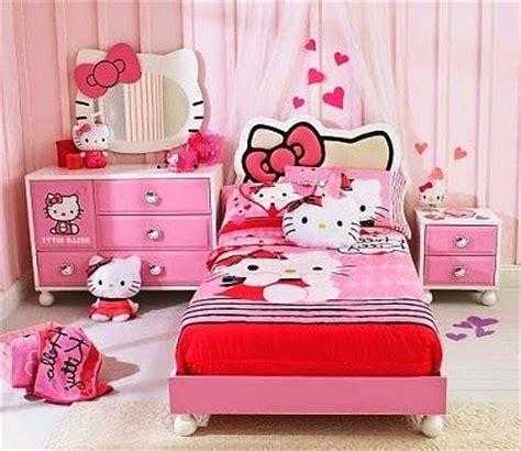 desain kamar gambar hello kitty 9 desain kamar anak perempuan minimalis sederhana