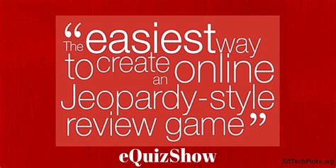 Make Your Own Jeopardy Style Review Game Equizshow Create Your Own Jeopardy Powerpoint