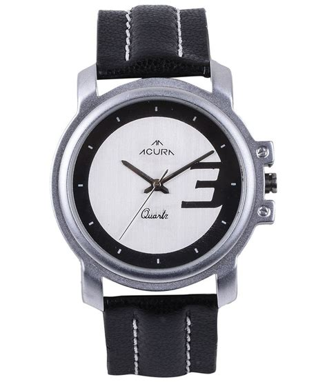 acura watches acura black leather wrist price in india buy acura