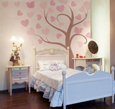 Wall Painting Ideas For Girls Bedroom Bedroom Design Decorating Ideas | girls bedroom wall art