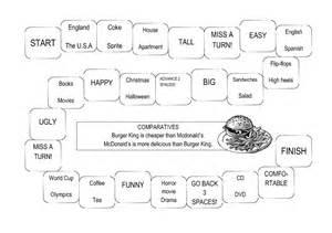 Comparatives board game