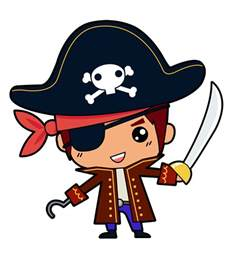 Image result for pirate clip art