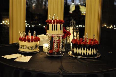 jazz decorations theme 1950 s swing jazz club birthday ideas