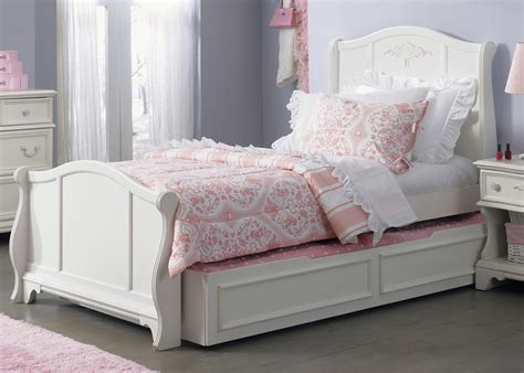 white full size trundle bed white full size trundle bed sleigh loft bed design