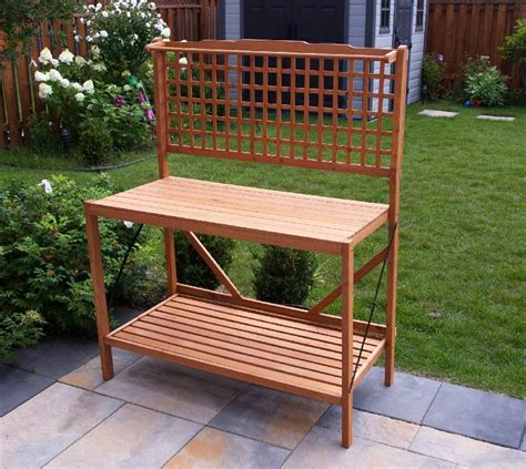 garden potting bench plans uk wood design furniture potting bench design ideas