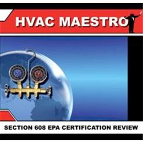Epa Section 608 Technician Certification by Certification Epa Section 608 Rses Org
