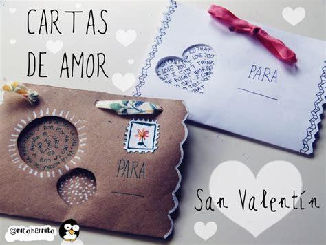 carta de san valentin para mi novio cartas sobres o tarjetas para regalar en san valent 237 n