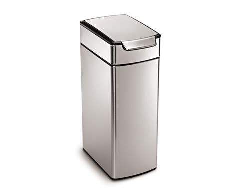 simplehuman bathroom trash can simplehuman trash cans wastebaskets for kitchen and