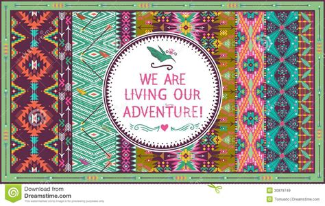 pattern design quotes hipster seamless aztec pattern with geometric elements and