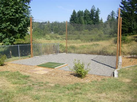 backyard range backyard driving range netting opening a backyard
