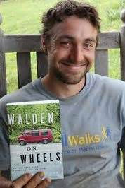 walden on wheels book review ken ilgunas author of walden on wheels on the open road