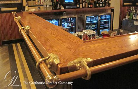 Custom Wood Bar Tops by Custom Ash Commercial Bar Top In Pennsylvania