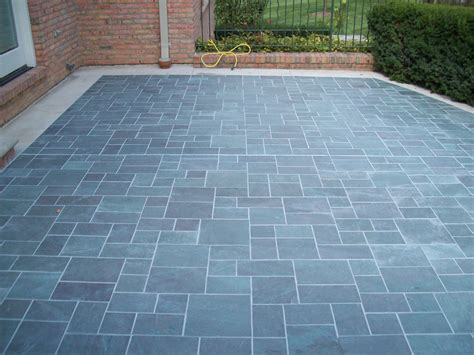 image gallery slate patio