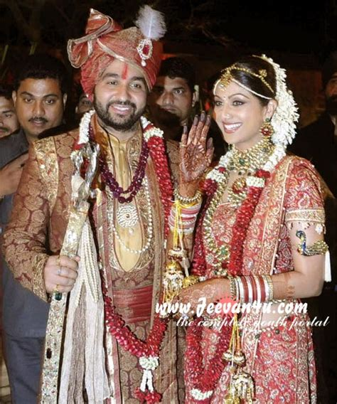 Marriage Pictures by Actresses Shilpa Shetty Marriage Photos