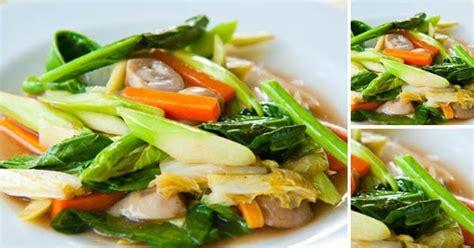 cara membuat capcay sehat resep masakan kumpulan resep masakan makanan sehat dan