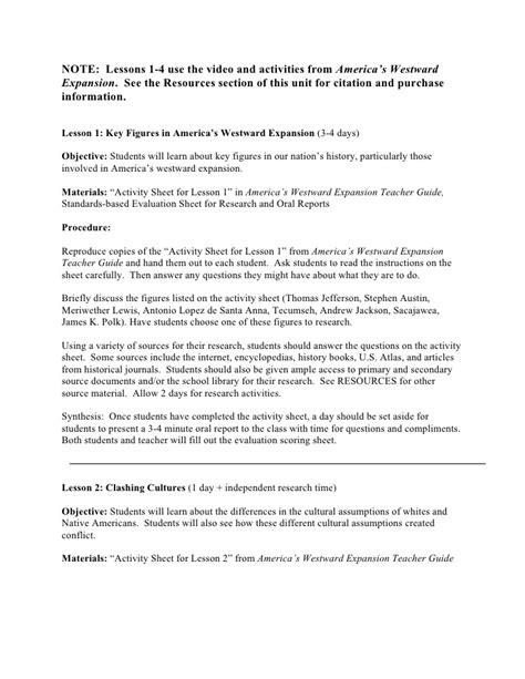 Westward Expansion Essay by Western Expansion Essay Westward Expansion Foundation Texts And Social Studies Westward
