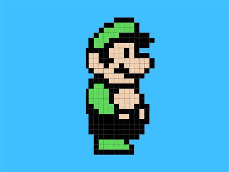 minecraft super mario pixel art minecraftpixelart org